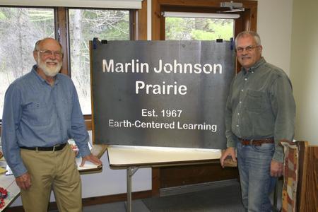 Marlin Johnson Prairie dedication ceremony