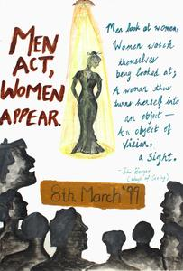 Men act, women appear
