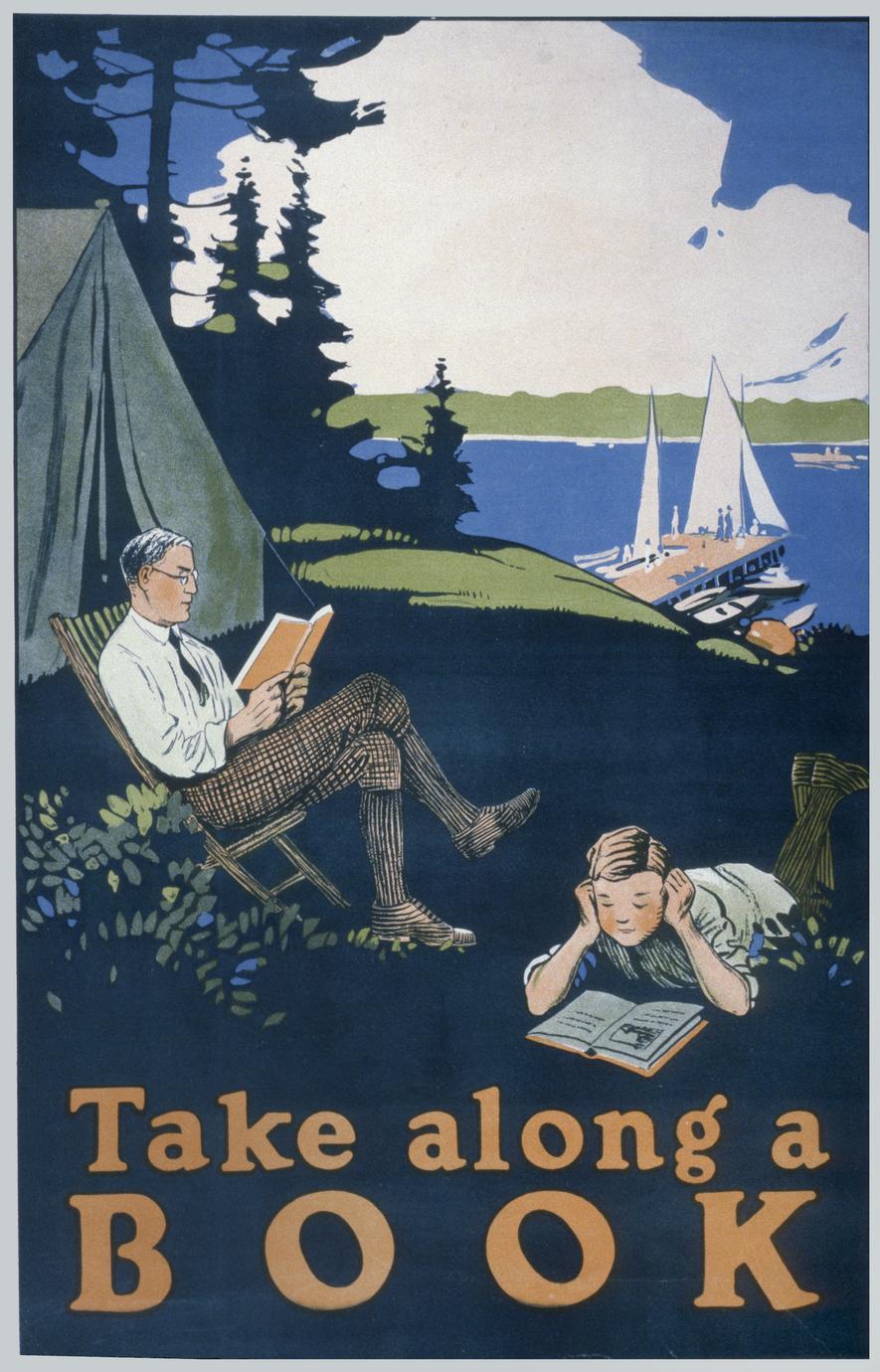 Take along a book