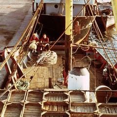 Fishing Boat Preparing to Leave