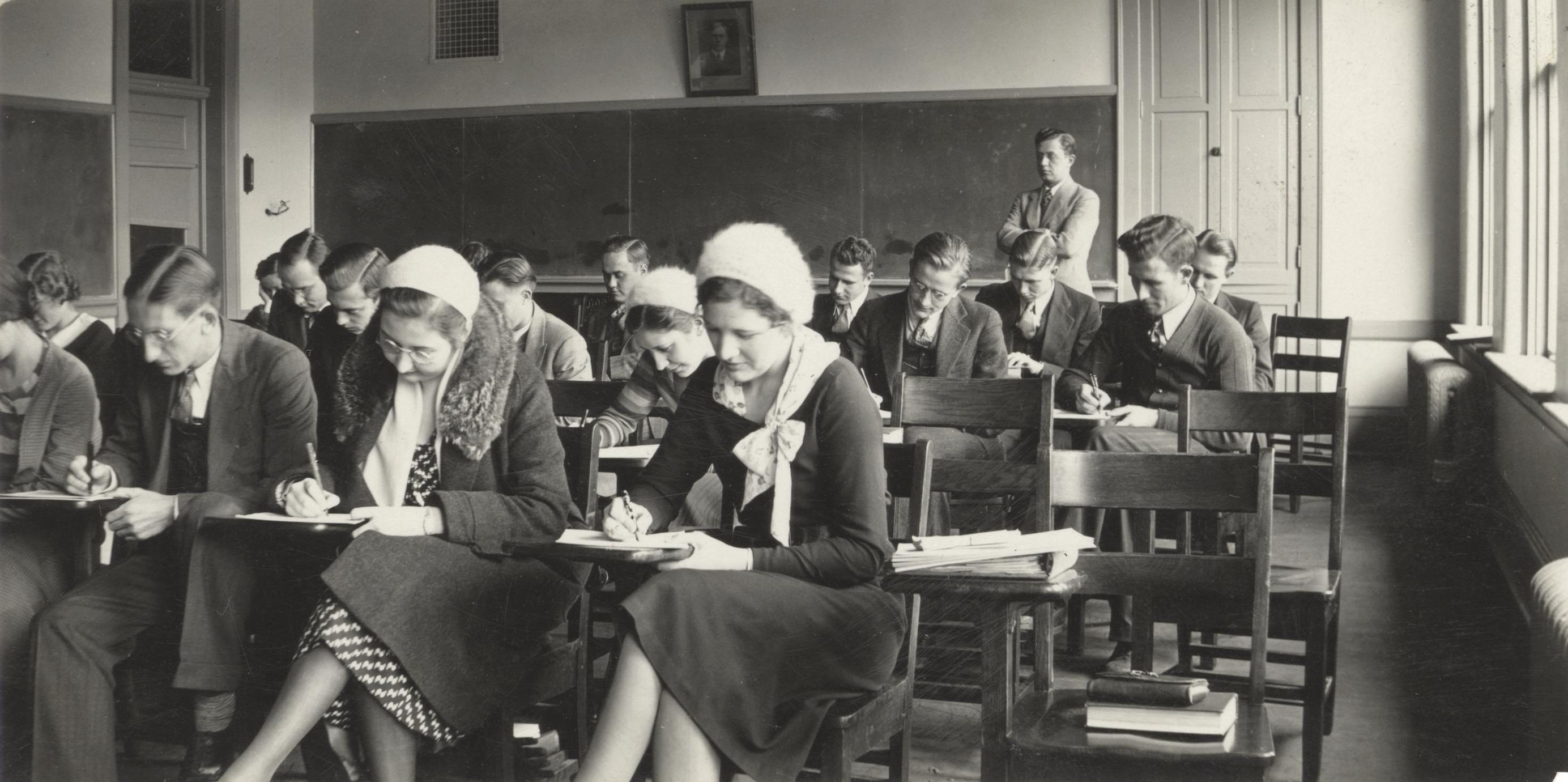 Latin American government class, 1932