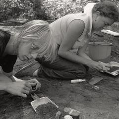 Archaeology dig