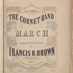 Cornet band march
