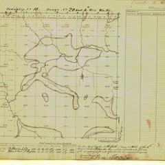 [Public Land Survey System map: Wisconsin Township 10 North, Range 20 East]