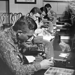 Microscopes in Laboratory