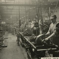 Nash Motors factory employees at work