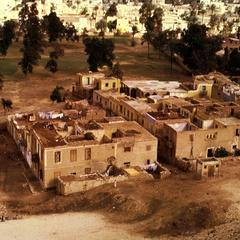 Housing near Base of Pyramids of Giza