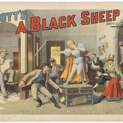 A Black Sheep : and how it came out in the wash