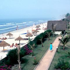 Beach Serving the Kombo Beach Novotel Hotel in Banjul