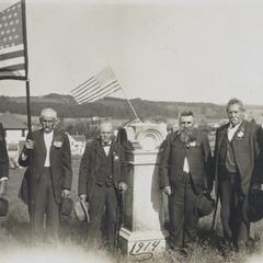 Civil War veterans, New Glarus