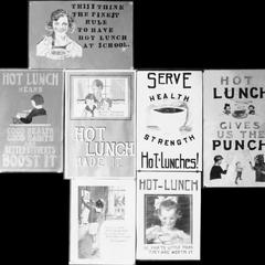 Hot lunch posters