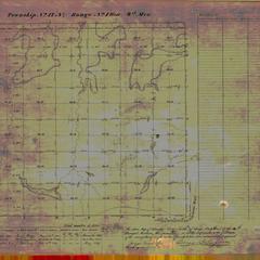 [Public Land Survey System map: Wisconsin Township 17 North, Range 01 West]