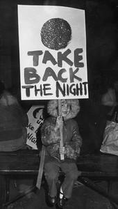 Take Back The Night rally