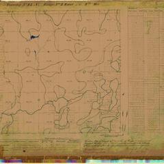 [Public Land Survey System map: Wisconsin Township 43 North, Range 03 East]