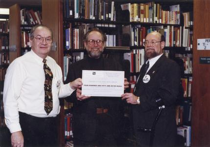 Donation from Friends of the West Bend Library