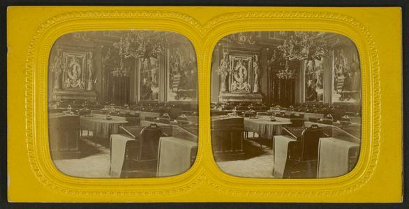 Salle des séances, Sénat