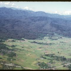 Flight to Nam Tam irrigation dam