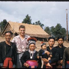 In Hmong (Meo) village