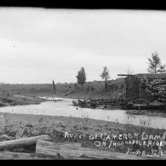 Dietz farm, Thornapple River, Cameron Dam ruins