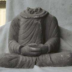 NG386, Stucco Torso of a Buddha Image
