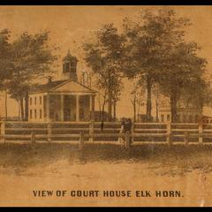 View of court house Elkhorn