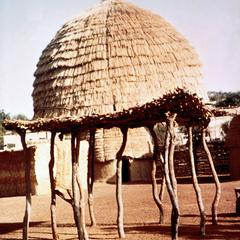 Thatched Granary in Savannah Region of Northern Ghana
