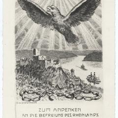 Zum Andenken an die Befreiung des Rheinlands, Juli 1930