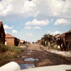 Slum Area in Soweto, Johannesburg