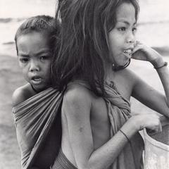 Laven children in Houei Kong in Attapu Province