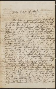 [Letter from R. Penzl to Jakob Sternberger, May 12, 1851]