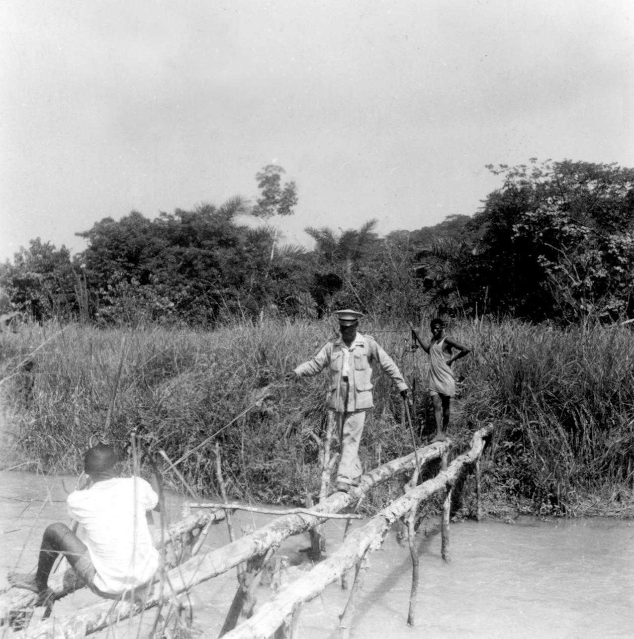 Bridge on Major Footpath in Kuba-Mbeengi Region