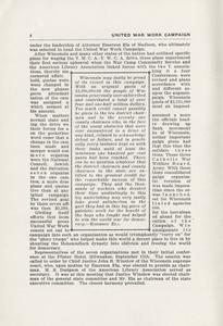 Page 6 - United War Work Campaign as conducted in Wisconsin