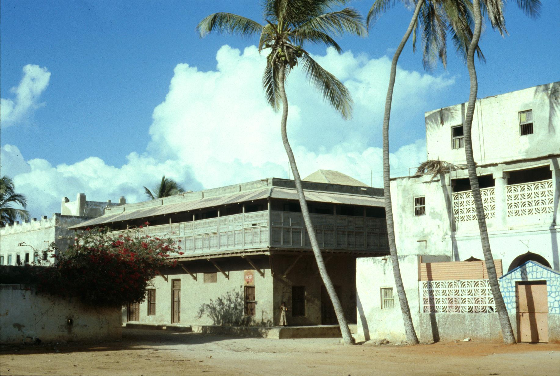 Building in Kismayu Dating from the Arab Era