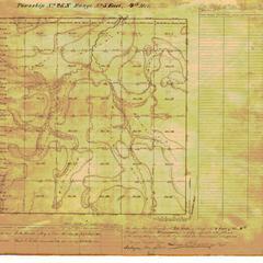 [Public Land Survey System map: Wisconsin Township 25 North, Range 05 East]