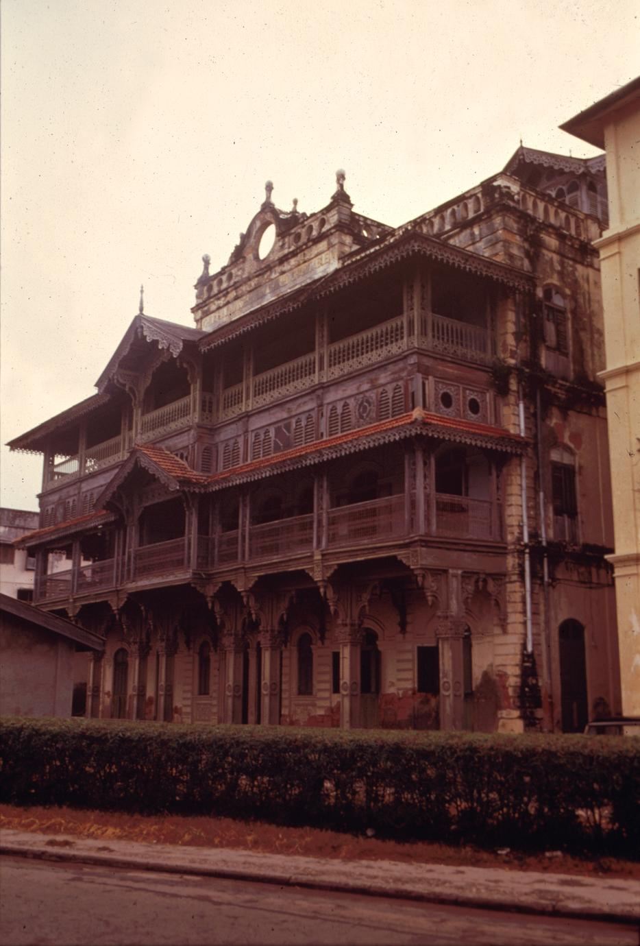 Old German Consulate on Zanzibar