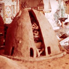 Oven Used to Melt Iron