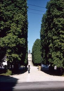 Sorgenfri Palace with a guard