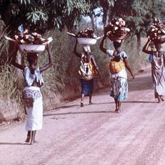 Women Carrying Produce to Market