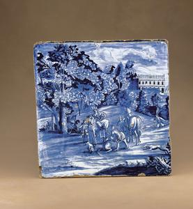 Tile or plaque