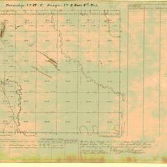 [Public Land Survey System map: Wisconsin Township 17 North, Range 03 East]