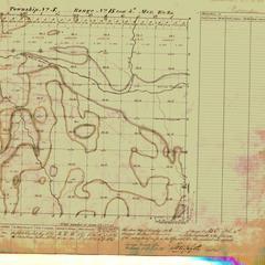 [Public Land Survey System map: Wisconsin Township 05 North, Range 15 East]