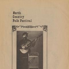 North Country Folk Festival program, 1979