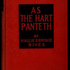 As the hart panteth