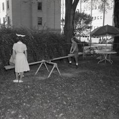 Playtime near the Children's Hospital