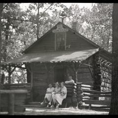 Heg Park log homestead, Racine County