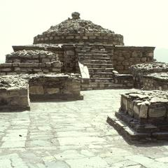 NimogramSite18 Shrine II : Main Stūpa