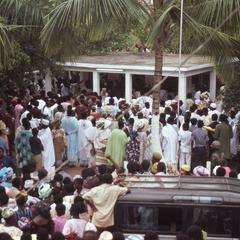 The Fatahunsi funeral crowd