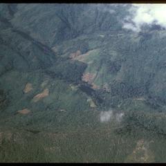 Hai fields in mountains