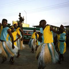 Dancers at masquerade