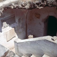 Interior of Roman Ruins at Carthage